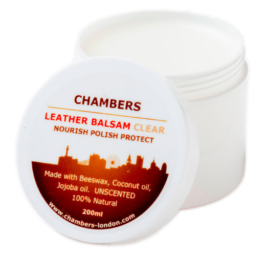 Aniline leather conditioner from Chambers & Co